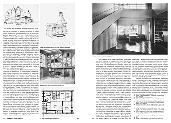 Hans Scharoun and the Development of Small Apartment Floor Plans